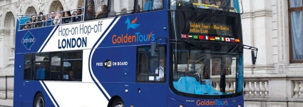 Golden Tours - Open Top Bus Tour of London