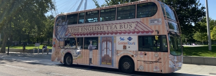 Golden Tours - Afternoon Tea Bus Tour of London